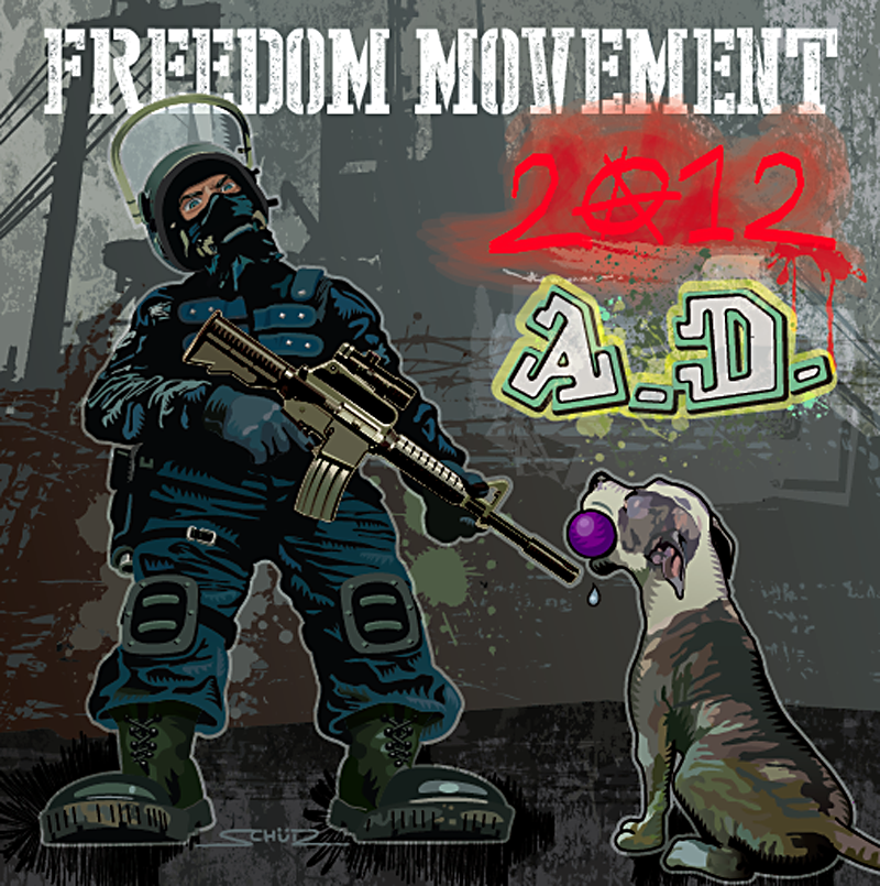 Freedom Movement 2012 A.D. Cover