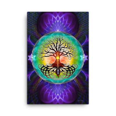Tree Of Life – 24 x 36 Stretched Canvas