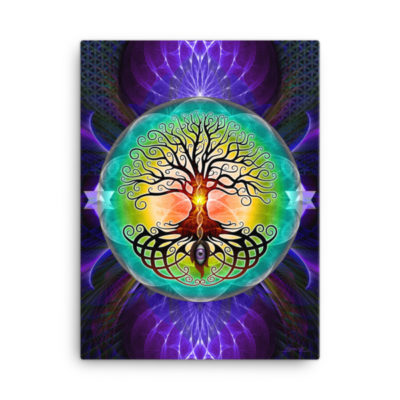 Tree Of Life – 18 x 24 Stretched Canvas