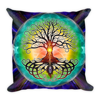 Tree Of Life – 18 x 18 Soft Pillow