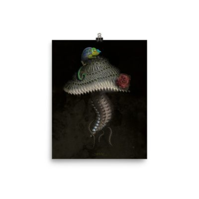 Chameleon Shroom – 8 x 10 Museum-Quality, Thick, Matte Paper Poster