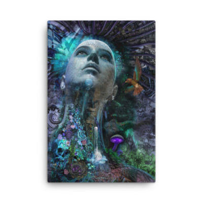I Am What I Think – 24 x 36 Stretched Canvas