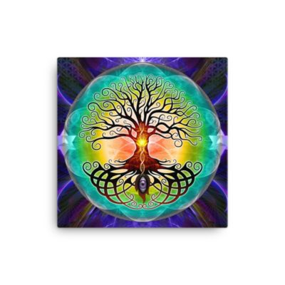 Tree Of Life – 16 x 16 Stretched Canvas