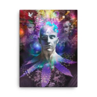 Head Of Creative Ops – 18 x 24 Stretched Canvas