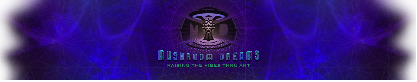 Mushroom Dreams  |  Visionary Art. Design. Branding.